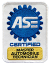 ASE Certified Master Technician